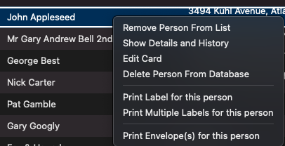 delete card screenshot